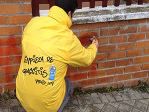 Limpieza de Graffitis