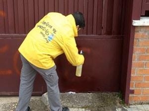 Mantenimiento de Limpieza de Graffitis en Madrid