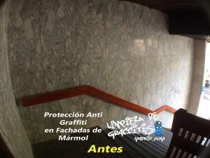 Protección Anti Graffiti para Mármol