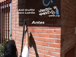 Protección Antigraffiti para Ladrillo